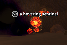 A hovering sentinel