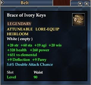 Brace of Ivory Keys