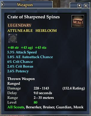 Crate of Sharpened Spikes