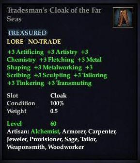 Tradesman's Cloak of the Far Seas