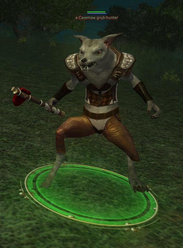 A Cavemaw grub hunter
