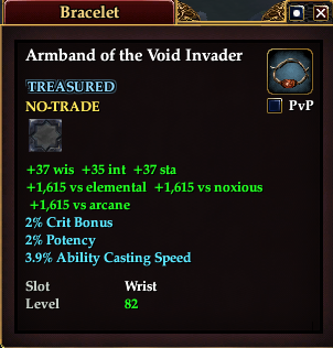 Armband of the Void Invader