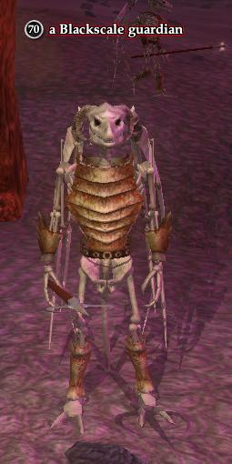 A Blackscale guardian (heroic)