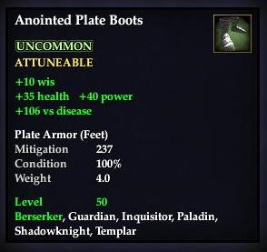 Anointed Plate Boots