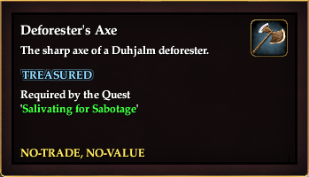 Deforester's Axe