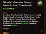 Veilwalker's Mounting Prospects