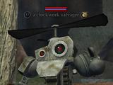 A clockwork salvager