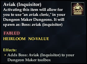 Aviak (Inquisitor) - Boss