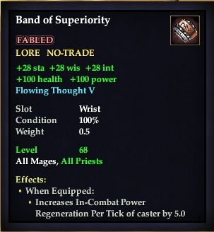 Band of Superiority
