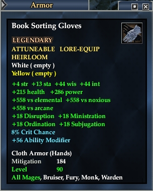 Book Sorting Gloves