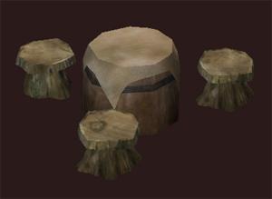 Rivervale Keg Table