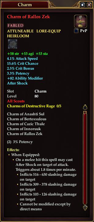 Charm of Rallos Zek