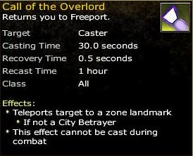 Call of the Overlord