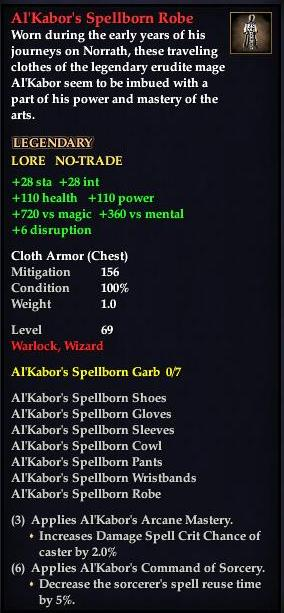 Al'Kabor's Spellborn Robe (Version 1)