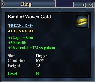 Band of Woven Gold