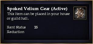 Spoked Velium Gear (Active)