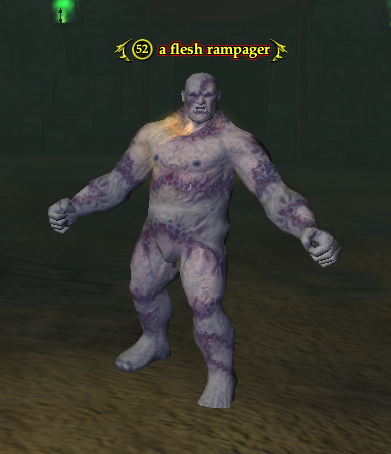 A flesh rampager