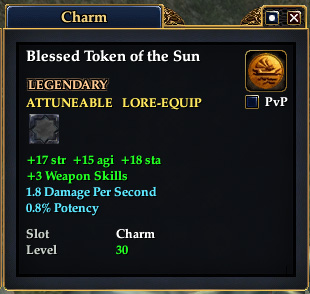 Blessed Token of the Sun