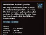 Dimensional Pocket Expander