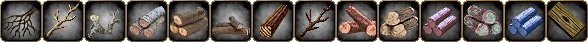 Icons of the Common wood harvests