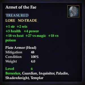 Armet of the Fae (Version 1)