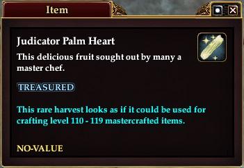 Judicator Palm Heart