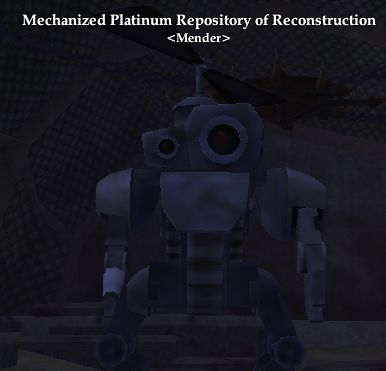 Mechanized Platinum Repository of Reconstruction (Crafted) (Mastercrafted)