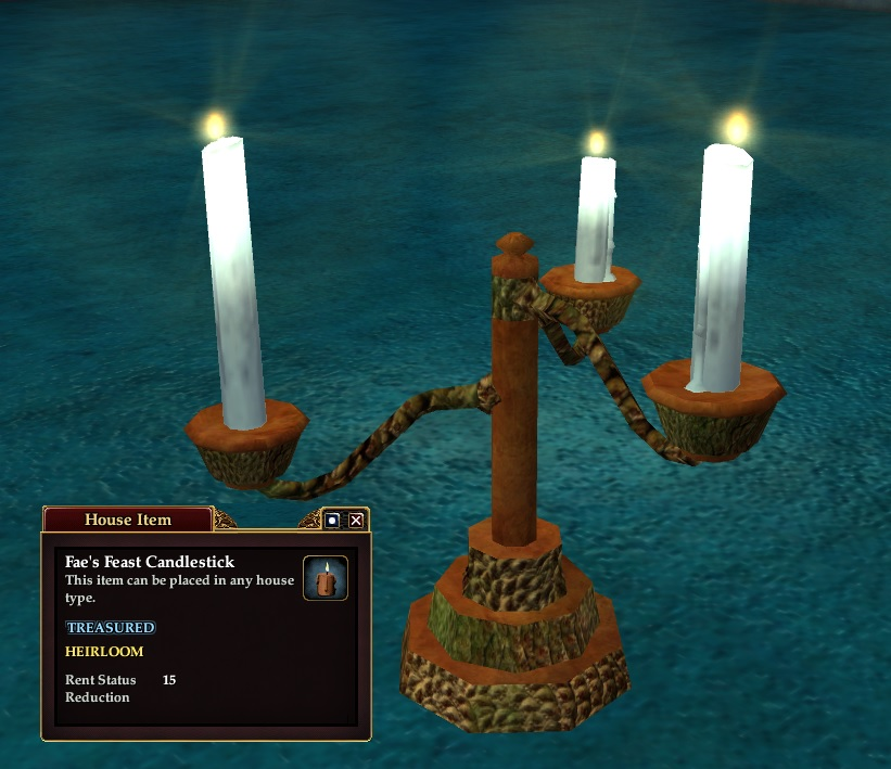 Fae's Feast Candlestick
