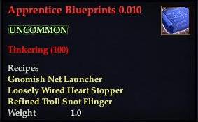 Apprentice Blueprints 0.010