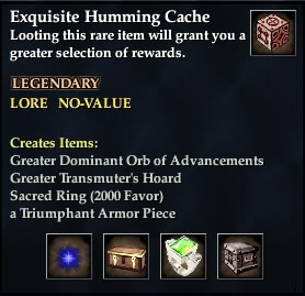 Exquisite Humming Cache (Ring War)