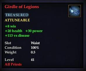 Girdle of Legions