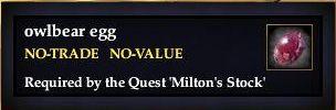 Milton's Stock