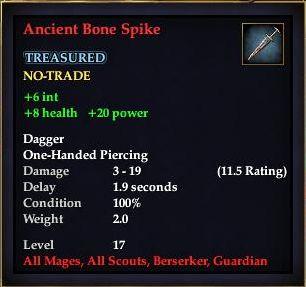 Ancient Bone Spike