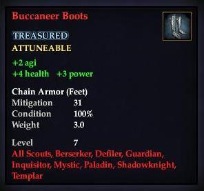Buccaneer Boots (Level 7)
