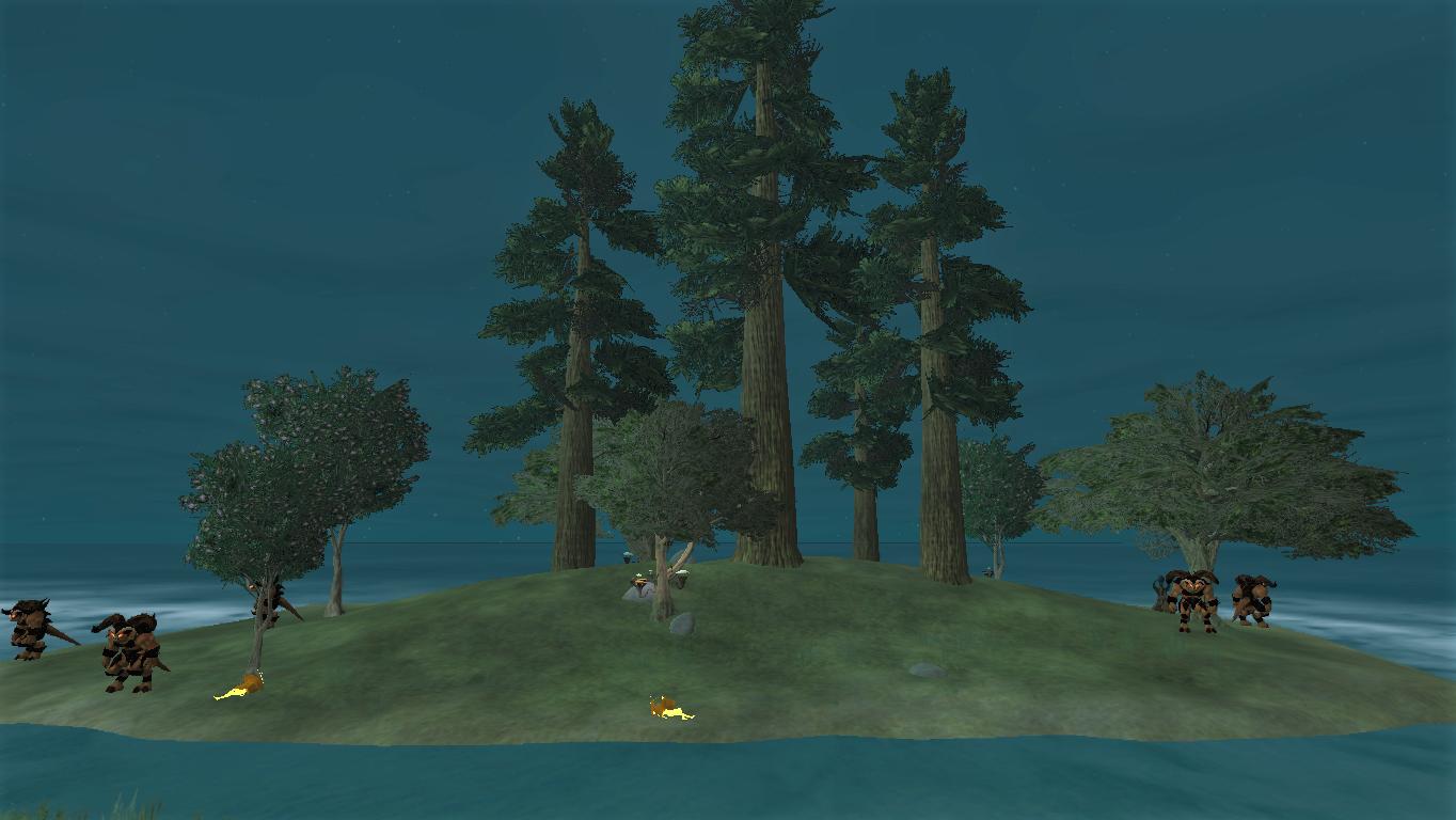 The Isle of Three Pines