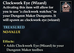 Clockwork Eye (Wizard)