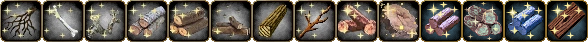 Icons of the Rare wood harvests