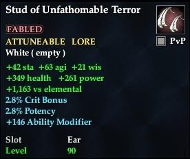 Stud of Unfathomable Terror