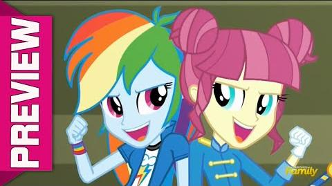 SNEAK PEEK - MLP Equestria Girls - Friendship Games
