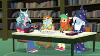 Big Mac, Snips, Snails, and Trixie in the RPG club EGDS4