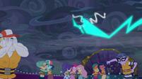 Magic lightning being pulled away EGSB