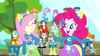 """Pinkie """"thanks for joining my cheering club"""" SS4"""