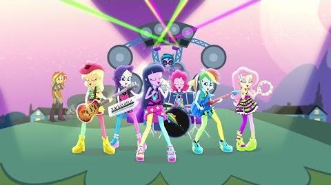 My Little Pony- Equestria Girls – Rainbow Rocks - oficjalny zwiastun DVD (polski dubbing)