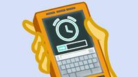 Clock on Sunset Shimmer's phone EGDS2