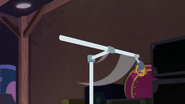 Time Twirler gets flung from boom stand EGSBP