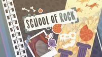 School of Rock title card EGDS1