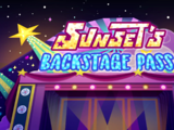 My Little Pony Equestria Girls: Sunset's Backstage Pass/Gallery