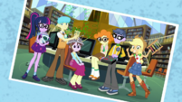 Photo of Applejack and the science club EGDS4