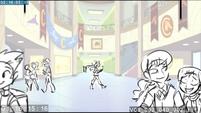 EG3 animatic - Sunset walking through the school