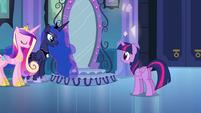 Princess Luna talking to Twilight EG